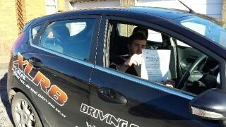 6.11.13- Congratulations to George who passed his test 1st time with XLR8 Wales Driving School...