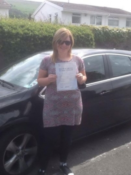 30.6.14 - A massive well done to Hollie Davies for passing her Automatic Driving Test first time in Merthyr Tydfil with only 4 driver faults! You worked really hard Hollie and we are all really proud of you ...
