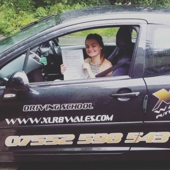 3.9.19 - A big well done to Holly today! Holly passed her driving test today in Abergavenny, first time with just 5 minors! Absolutely brilliant Holly....Congratulations!!...