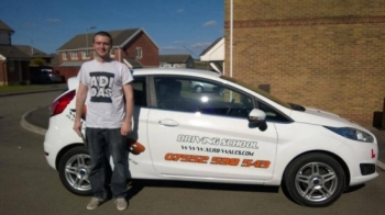 14.04.14 Big congratulations to Joseph on passing his driving test today first time at Merthyr Tydfil nice one mate!...