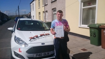 12.5.15 - Congratulations to Joshua Jones on passing his driving test in Merthyr Tydfil 1st time with only 3 minors!...