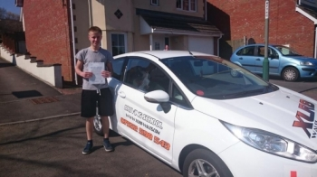 10.4.15 - Congratulations to Joshua Stokes on passing his test in Merthyr Tydfil with only 3 minors! Looking forward to seeing you out on the road :-)...