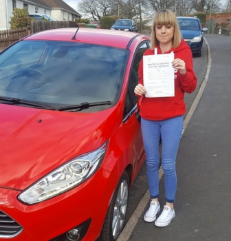 26.2.18 - Congratulations to Kelsey Watters on passing her driving test today with only 2 little minor faults.... Enjoy your freedom and give us a beep if you see us on your travels...