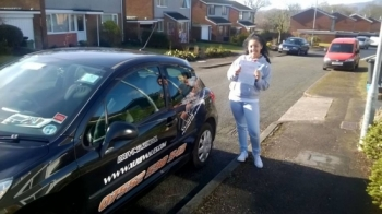 10.3.15 - A big congratulations to Leah today for passing her driving test in Newport with just 5 minors. Well done :-)...