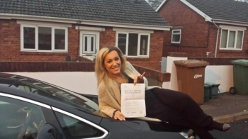 4.12.14 - A massive well done to Magda for passing her automatic driving test today. Brilliant result and we are really proud of you especially after only 14 hrs of lessons!!...