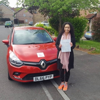 23/5/17 - Congratulations to Natasha Taylor on passing her automatic driving test today with only 2 minors.... lovely!!...