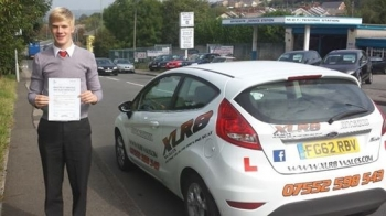 5.8.14 - A massive congratulations goes out to Oliver Townsend who passed his driving test today in Abergavenny after only 26 hours of driving tuition and with only 3 minor faults.... Well done and good luck at either Oxford or Cambridge... Whichever you choose!!...