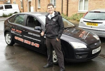 9.11.13 - Congratulations to Travis who passed his Automatic Driving Test 1st time today after 12 hours of training!!  ...