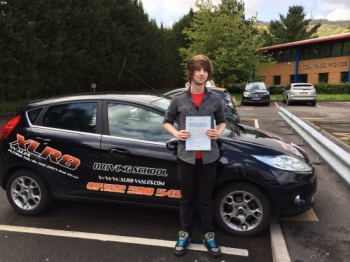 09.05.14 Well done to Ben Hooper on passing his driving test first time at Merthyr Tydfil after only 23 hours!!! See you soon for pass plus!!...