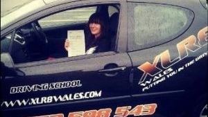 Megan started her driving lessons with XLR8 Wales in July 2013 and passed 1st time after completing a 30 hour semi-intesive course. Megan was very happy with the quality of her lessons and the speed at which she managed to get to test standard. From the first phone call and the chat with the office right through to booking and passing her test, Meg...
