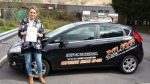 Jessica Stephenson passed with XLR8 Wales Driving School
