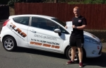 Garin Jones passed with XLR8 Wales Driving School