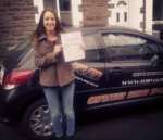 Abbi passed with XLR8 Wales Driving School