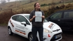 Abi White passed with XLR8 Wales Driving School