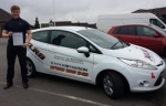 Adam Buttifant passed with XLR8 Wales Driving School