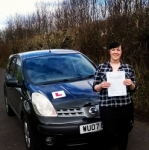 Adana Slack passed with XLR8 Wales Driving School