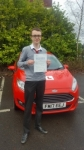 Aled Diplock passed with XLR8 Wales Driving School