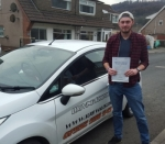 Alex Eedy passed with XLR8 Wales Driving School