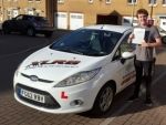 Alex Williams passed with XLR8 Wales Driving School