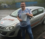 Allyn Smith passed with XLR8 Wales Driving School