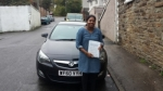 Anjuk passed with XLR8 Wales Driving School