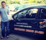 Anjum passed with XLR8 Wales Driving School