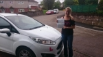 Anya McDermott passed with XLR8 Wales Driving School