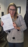 Ashleigh Mathlin passed with XLR8 Wales Driving School