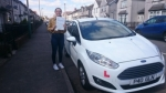 Ashton Gillett passed with XLR8 Wales Driving School