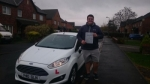 Ben Williams passed with XLR8 Wales Driving School