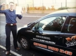 Ben passed with XLR8 Wales Driving School