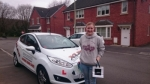 Bethan Crimmins passed with XLR8 Wales Driving School