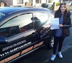 Bethan Knight passed with XLR8 Wales Driving School