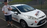 Brandon Jones passed with XLR8 Wales Driving School