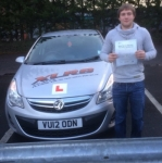 Bregan Edwards passed with XLR8 Wales Driving School
