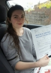 Brenna Musto passed with XLR8 Wales Driving School