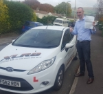Brian Murnaghan passed with XLR8 Wales Driving School