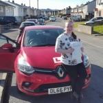 Bridie Parfitt passed with XLR8 Wales Driving School