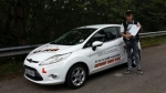 Callum Morgan passed with XLR8 Wales Driving School