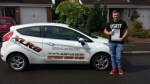 Canaan Beasley passed with XLR8 Wales Driving School