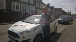 Carl Jones passed with XLR8 Wales Driving School