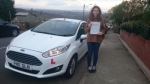 Casey Jones passed with XLR8 Wales Driving School