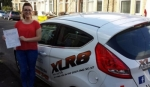 Cerys Cantwell passed with XLR8 Wales Driving School