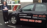 Chao Yung passed with XLR8 Wales Driving School