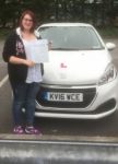 Charlotte Vond passed with XLR8 Wales Driving School
