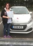 Charlotte Vond passed with XLR8 Wales Driving School