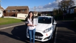 Charlotte Wood passed with XLR8 Wales Driving School