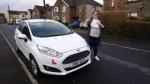 Chloe Thomas passed with XLR8 Wales Driving School