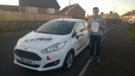 Connor Lees passed with XLR8 Wales Driving School