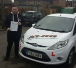 Connor Tiley passed with XLR8 Wales Driving School